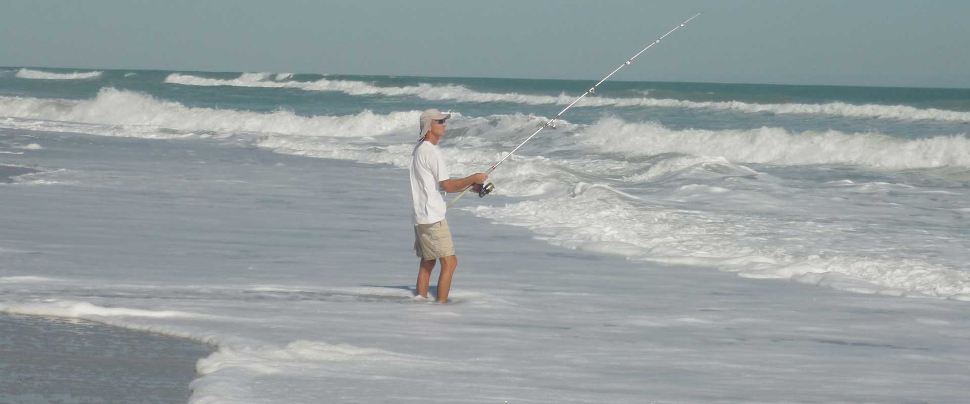 Fish, surf, and sun on Melbourne, Florida's beautiful beaches.